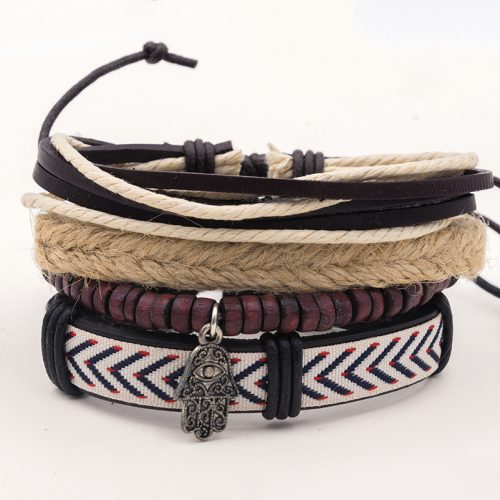 surf jewelry , leather bracelets