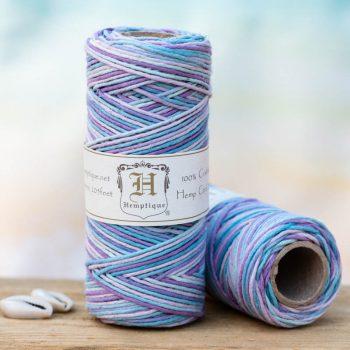 pastel hemp cord 1mm