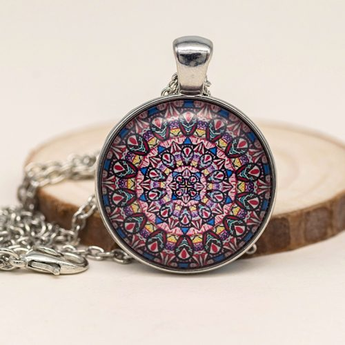 mandala necklace pendant