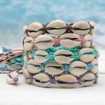 cowrie shell hemp bracelets