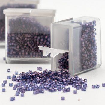 Purple  Miyuki Seed Beads, 6-8g  Japanese Miyuki, Glass Seed  Beads  -B2315