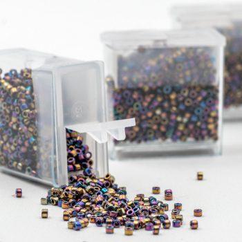 Rainbow Miyuki Seed Beads, 6-8g  Japanese Miyuki, Glass Seed  Beads  -B2315