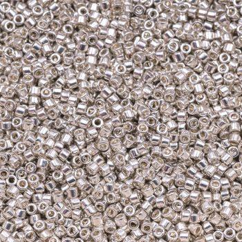 Silver Miyuki Seed Beads, 11g  Japanese Glass Seed  Beads,   -B2316F