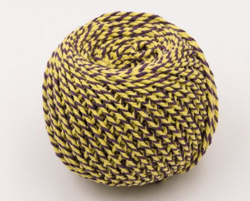 Cotton Bakers Twine, Purple and Yellow, 2mm, 328 Feet, Packaging Twine, Gift Wrap -T89