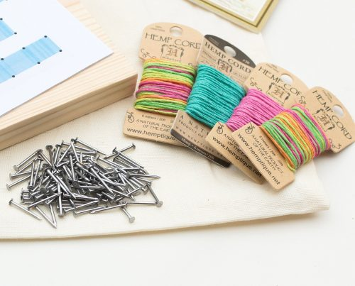 String Art DIY Kit,  Hemp Cord Mini Cards, Home Decor, String Art Patterns