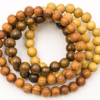 Wood Beads 8mm, 72pcs,  30 inch Strand,  Round Wood  Beads,  Wooden Beads -B519