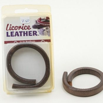 Brown Leather Cord, 10x7mm, Bracelet Cord,   Wrist Strap
