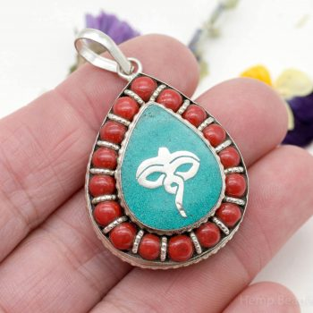 Tibetan Locket Pendant, Buddha Eyes, 1pc, 35x30x10mm, Necklace Pendant, Lockets -P259