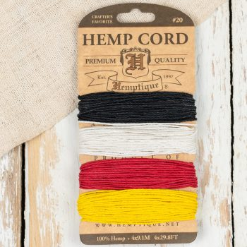 Hemp Cord, 1mm Hemp String, Hemp twine, Scrapbooking Twine