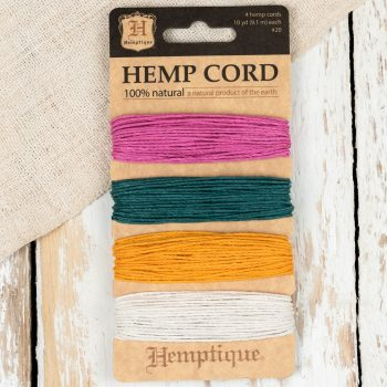 Hemp Cord 1mm, Macrame Hemp Cord,