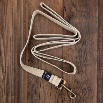 hemp webbing dog leash
