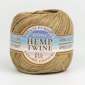 Natural Hemp Twine 10lb,  400 Feet spool, macrame cord
