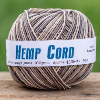 Natural  Hemp Twine,  Earthy, Hemp Jewelry Cord 1mm  - One Ball