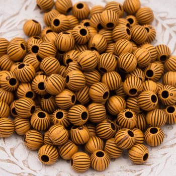 Round Acrylic  Beads 10mm, 40pcs,   Brown  -B2960