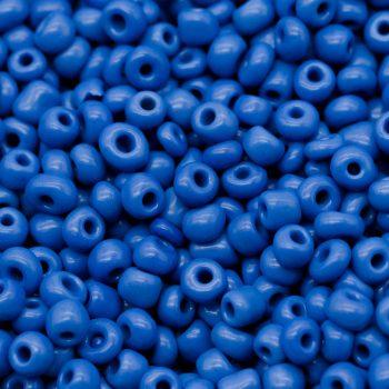 Blue Seed beads,  3 Ounce Bag,  4x3mm,  Seed Beads,    Glass Beads -B688