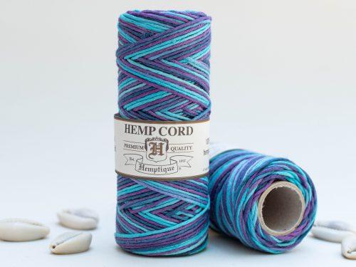 Macrame Cord 1mm, Purple Haze