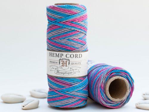 Dance Off Hemp Cord 1mm, 205 feet