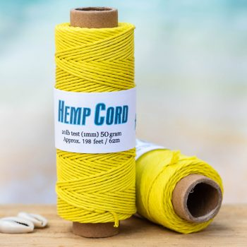 yellow bead cord